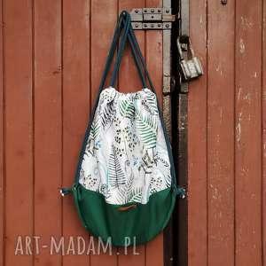 plecak worek paprotkowy leśny - ,plecak,worek,paprotki,las,góry,leśne,