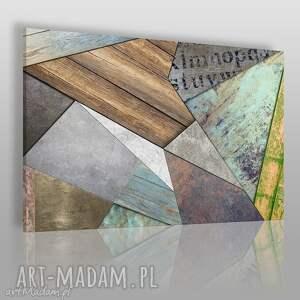obrazy obraz na płótnie - wzór tekstury 120x80 cm 71901, wzór, tekstura, kształty