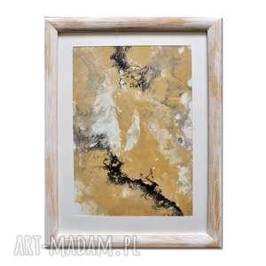 acqua di follia 23, obraz, abstrakcja, ręcznie, malowany, abstrakcja