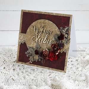 Kartka ślubna w pudełku, 425, ślubna-kartka, ślub, wesele