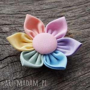 PASTELOVE Spinka do włosów kwiatek, spinka, wiosna, pastelowe
