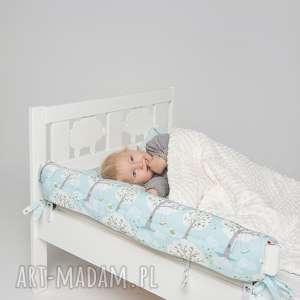 ochraniacz do łóżeczka łóżka ikea - las ecru - ochraniacz