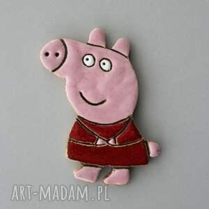 pepinka - magnes ceramiczny, bajka, peppa, dziecko, bohater, prezent