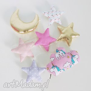 hand made pokoik dziecka girlanda 120cm unicorn