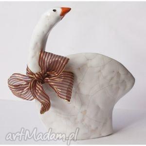 wylegarnia pomyslow gęś ceramiczna, ęś, gąska, ceramika, ptak