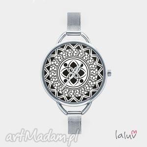 Prezent Zegarek z grafiką MANDALA OF HAPPINESS, szczęście, harmonia, zen, symbol