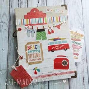 dziennik dla miłośnika podroży, wakacje, podróże, travel, notatnik, plaża