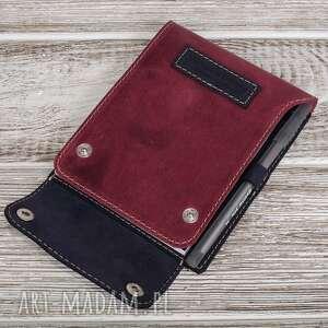 notesy ręcznie robiony skórzany notes mały a6 100 skóra, skórzany