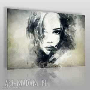 vaku dsgn obraz na płótnie - kobieta portret 120x80 cm 14901, kobieta