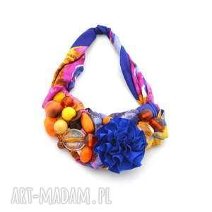 naszyjniki over the rainbow naszyjnik handmade, naszyjnik, kolia, kolorowy