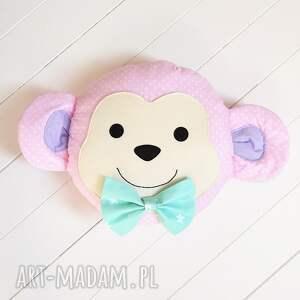 handmade pokoik dziecka poduszka małpka