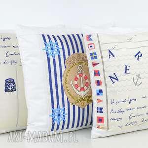 Prezent Poduszka dekoracyjna 40x40cm - Marine 2, poduszki, poszewka, dekoracja