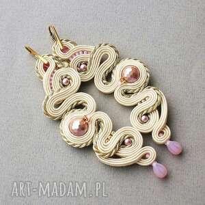 rustic roses, perły, sutasz, długie