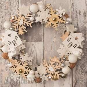 artshoplalashop wianek świąteczny boże narodzenie, wianek, święta, stroik