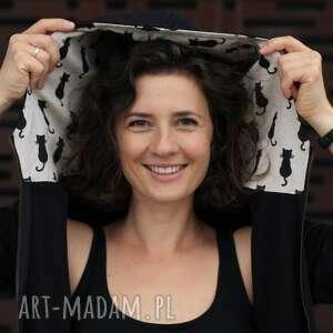 ręcznie zrobione bluzy rozpinana w kocury