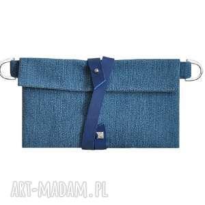 28-0007 Niebieski organizer do torebki na damskie dodatki DAISY, organizer-do-torebki