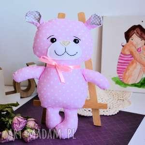 hand-made maskotki miś kuleczka - asia 26