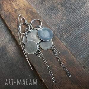 unikalny, kolczyki srebrne, ze srebra, srebrne