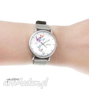 Prezent Zegarek, bransoletka - Motyle, oznaczenia mały, zegarek, bransoletka, motyl