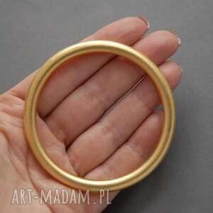oryginalny prezent, bransoletka - koło, metal, elegancka, koło