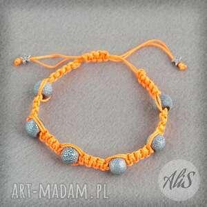 Odważny pomarańcz - Ręcznie zrobione