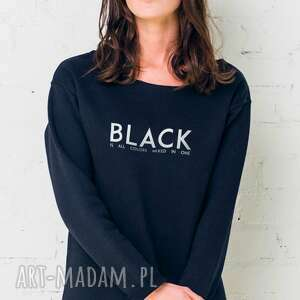 BLACK IS ALL COLORS Oversize Bluza, oversize