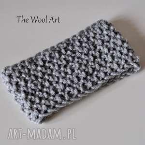 the wool art opaska na głowę, opaska, wełniana, drutach, wiosenna