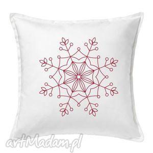 hand-made pomysł na upominki święta poduszka gwiazdka