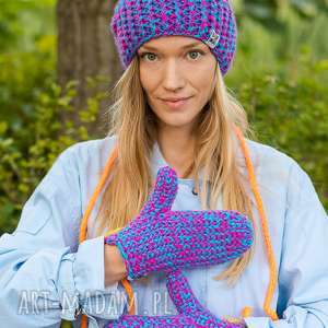ręcznie robione rękawiczki euforia