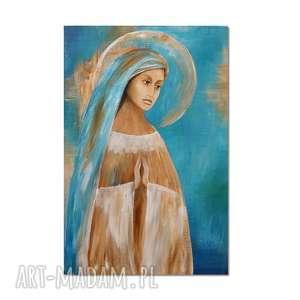 anioł ananchel a, obraz ręcznie malowany - anioł, obraz, ręcznie, malowany