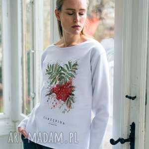 handmade bluzy jarzębina bluza oversize