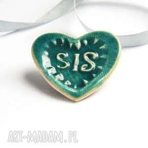 dla siostry magnes ceramiczny, magnes, ceramika, siostra, prezent magnesy