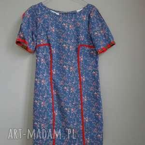 sukienka Folk Design Aneta Larysa Knap, folk, góralskie