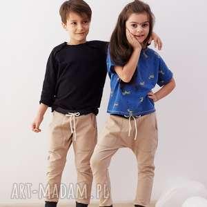 cudi kids spodnie baggy kamel, spodnie, baggy, wakacje, bawełna