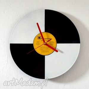 shadeninteriordesign zegar vinyl clock, zegar, dom, prezent, retro, vintage, płyta