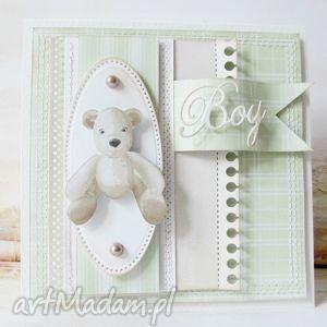 scrapbooking kartki dla maluszka, chłopiec, urodziny, gratulacje