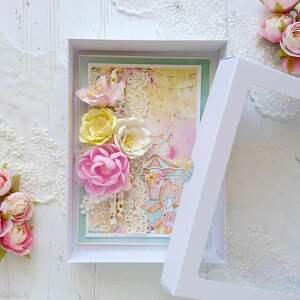 ręczne wykonanie scrapbooking kartki kartka w wesołych, soczystych kolorach