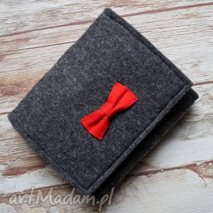 filcowy portfelik z kokardką, portfel, portfelik, filcowy, kokardka