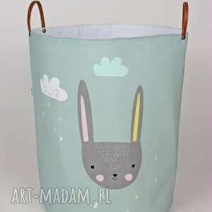 ręcznie wykonane pokoik dziecka ogromny pojemnik z królikiem