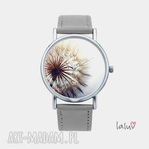 zegarek z grafiką dmuchawiec, nostalgiczny, romantyczny, kwiaty, prezent, mlecz