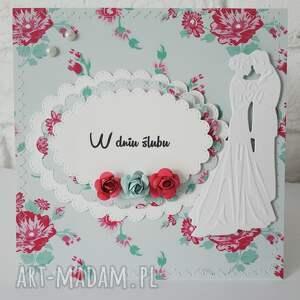 Kartka ślubna , ślub, personalizacja, pamiątka, cardmaking, kartka, życzenia
