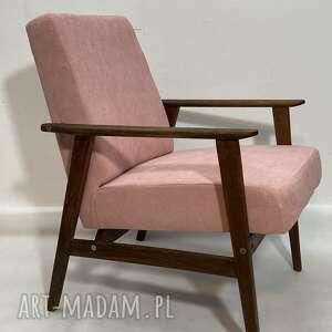 fotel prl vintage lisek, fotel, prl, vintage, salon, meble, designe