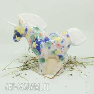 unicorn jednorożec prezent dla urodziny, jednorożec, ceramiki