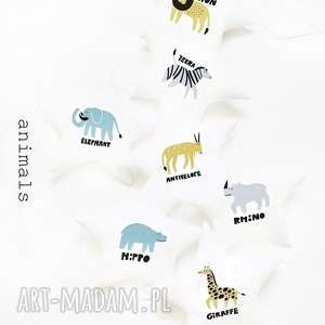 animals - girlanda zwierzęta, girlanda, gwiazdki