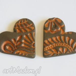 ceramiczne serca magnesy, ceramika, serca, serce, walentynki, kuchnia