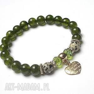 ki ka pracownia olive heart 26 10 15 , marmur, jaspis, kryształki, kamienie, serce
