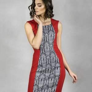 anna bartula sukienka be beauty, sukienka, koktajlowa, wieczorowa, casual, czerwień