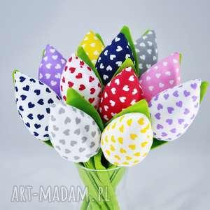 dekoracje tulipany- bukiet z 11 sztuk, dekoracje, kwiaty, tulipany, bukiet, prezent