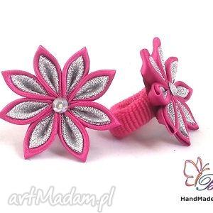 Prezent Gumka do włosów dla dziewczynki, gumka, frotka, prezent, kwiat