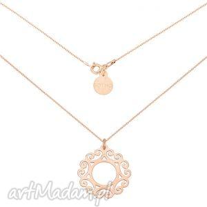 ręczne wykonanie naszyjniki naszyjnik z różowego złota dużą arabską